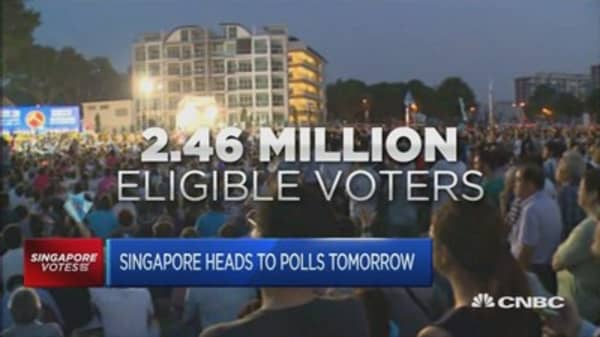 Singapore goes to the polls on September 11