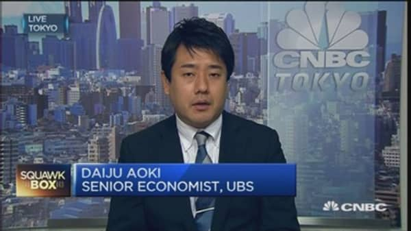 Japan machinery orders still on improving trend: UBS