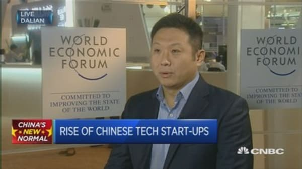 China's market rout isn't deterring this VC firm