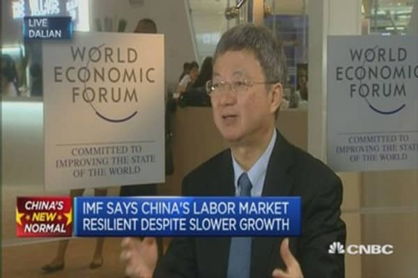 IMF: Expect China growth to be 6.8% in 2015
