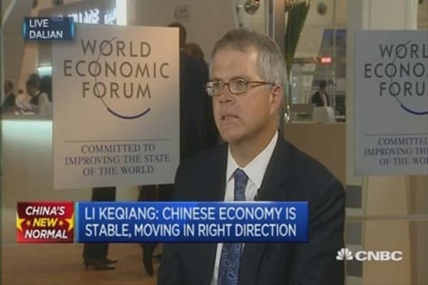 Andrews: China Premier's comments were positive