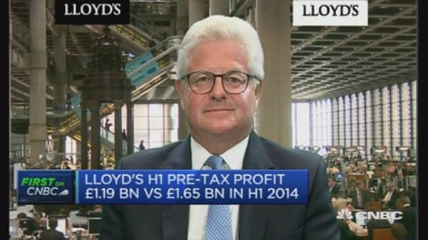 Conditions for insurance sector 'interesting': Lloyd's Chairman