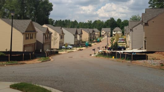 Starwood Waypoint bought new homes to rent in Lawrenceville, Georgia