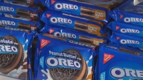 MDLZ unwrapping healthier snacks