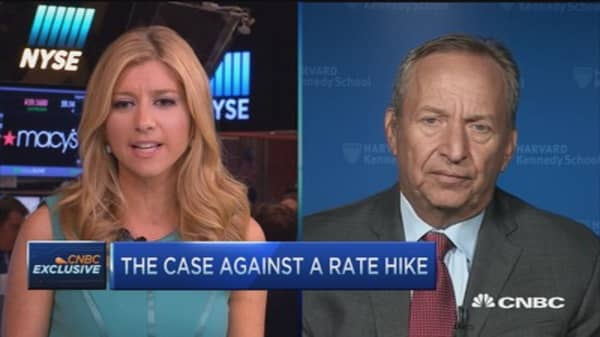 Larry Summers' case against rate hike