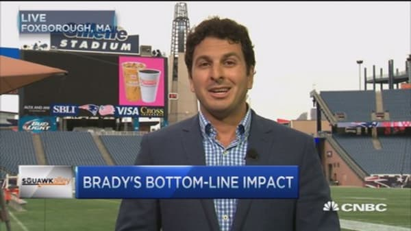 Tom Brady spikes ticket prices