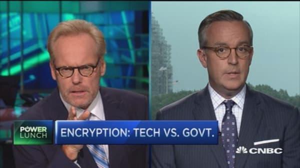 Encryption: Tech vs. govt.