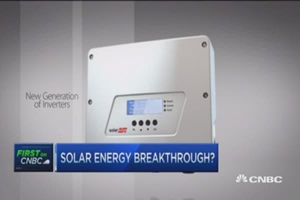 Huge leap in solar tech?