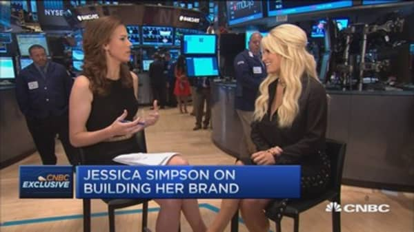 I'm all about taking risk: Jessica Simpson