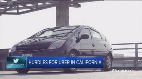 Legal hurdles for Uber in Cali