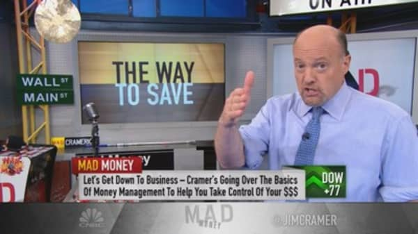 Cramer: You'll never get rich from your paycheck