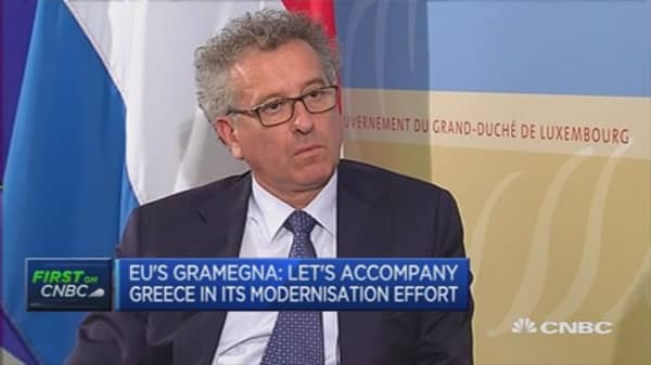 Lack of action by Greece was damaging: Luxembourg Fin Min