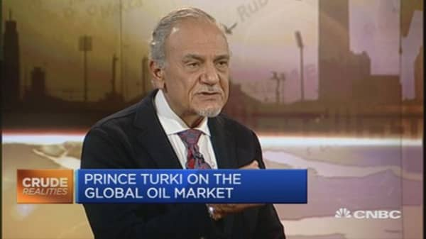 Everyone wants to protect oil market share: Prince Turki