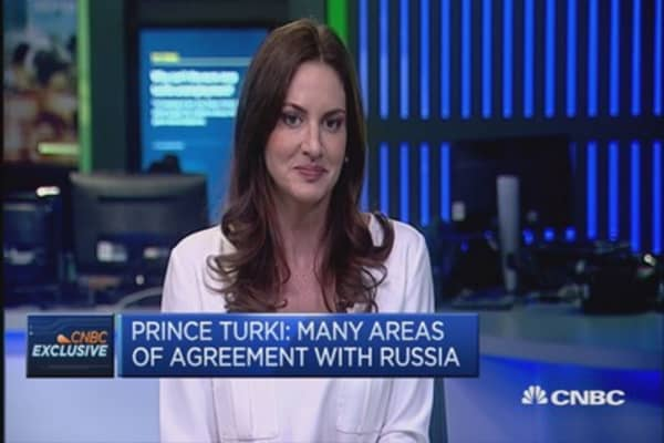 Russia's military action in Syria is a huge mistake: HRH Turki al-Faisal