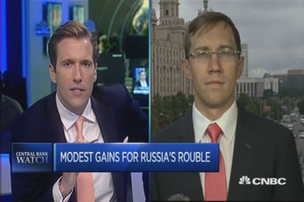 Russian central bank unlikely to change interest rate