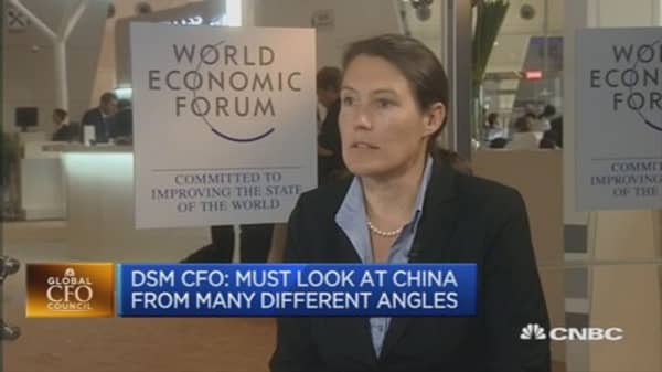 China still very interesting: DSM CFO