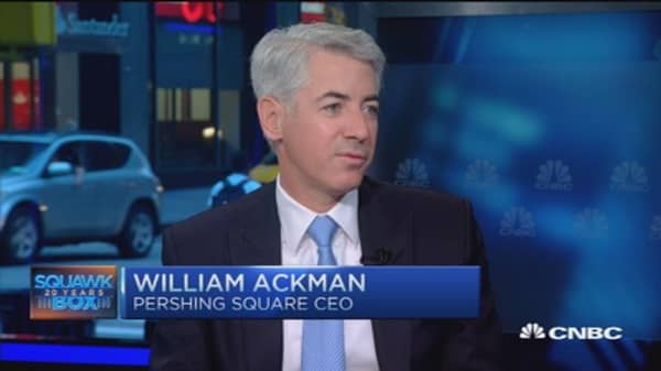 Bill Ackman: Benefits of short sellers