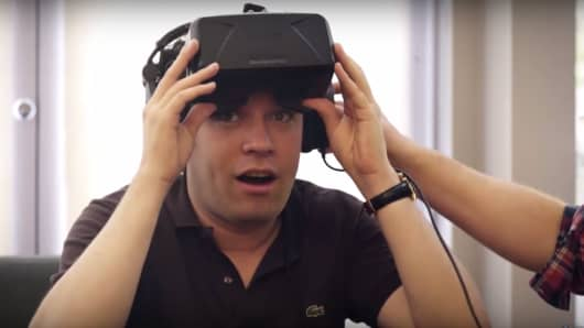 """Wow!"" music director Gustavo Dudamel says after viewing a virtual reality performance of the LA Philharmonic."