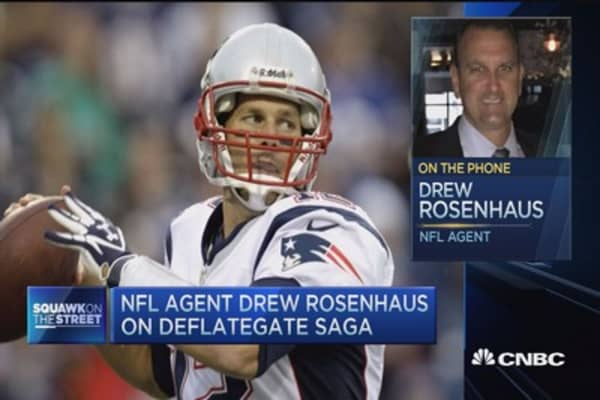 NFL under a lot of pressure: NFL agent