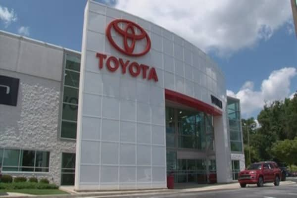 Flooding forces plant closures for Toyota