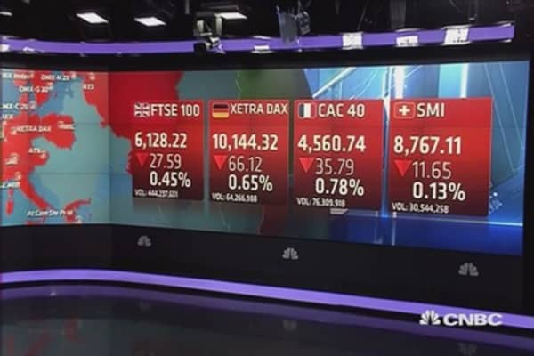 European stocks close lower as Fed watch dominates