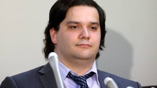 Mark Karpeles, chief executive officer of Mt. Gox, in February, 2014.