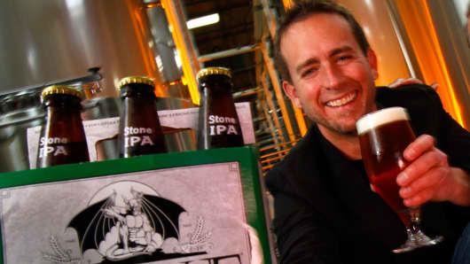 Greg Koch CEO of Stone Brewing in 2011.
