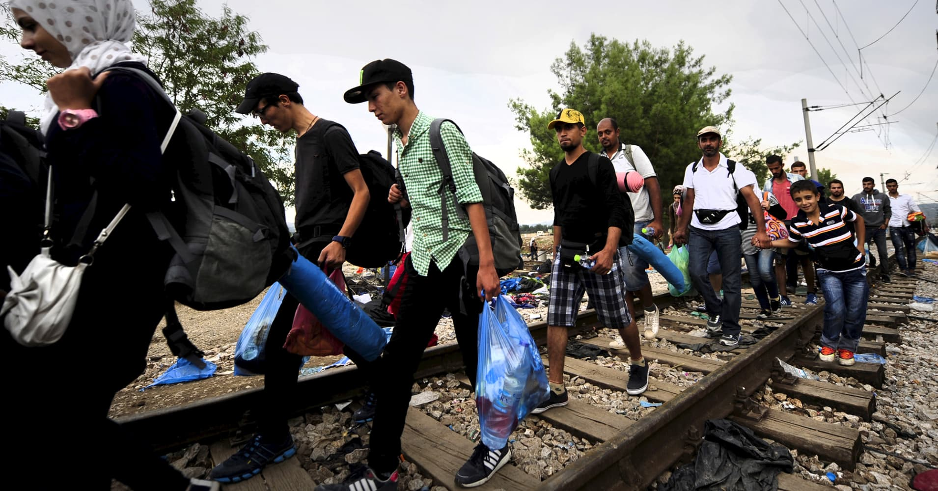 European leaders are proposing collaborative measures to counter overwhelming migration