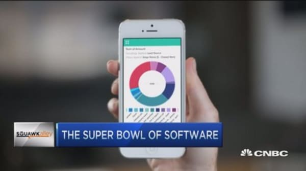 Dreamforce... the Super Bowl of software