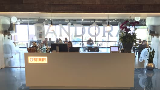 Pandora offices
