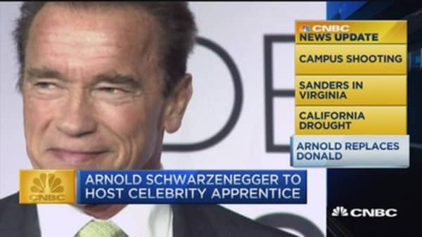 Schwarzenegger new host of 'Celebrity Apprentice'
