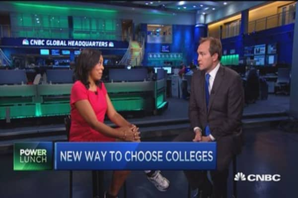 New way to choose colleges