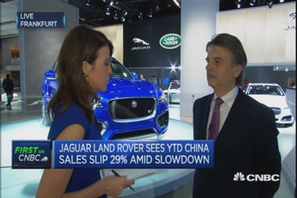 Will adapt to China's new normal: Jaguar Land Rover CEO