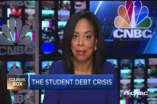America's next big crisis? Student debt