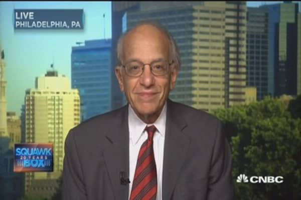 Let's get hike out of the way: Jeremy Siegel