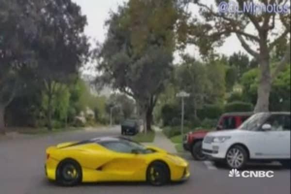 Ferrari, Porsche caught racing in Beverly Hills