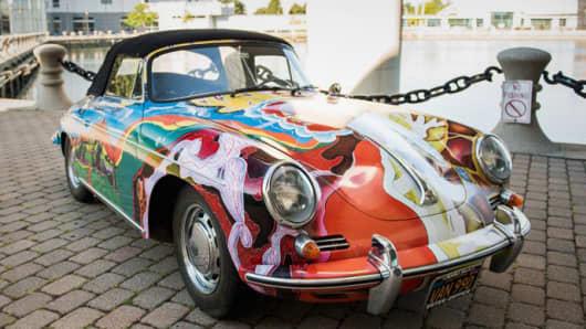 Janis Joplin's 1965 Porsche