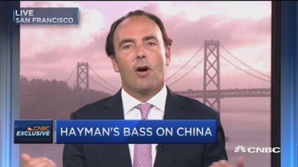 China's $3T banking loss just beginning: Bass