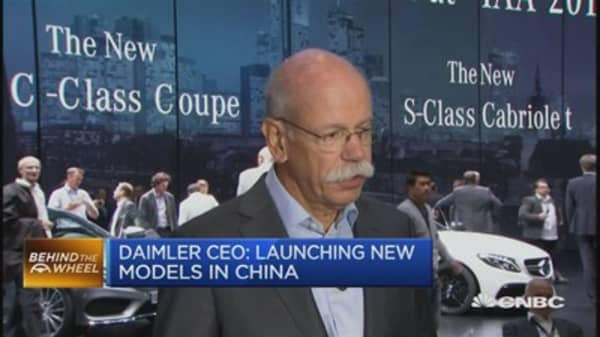 Daimler CEO: Not expecting big impact from Fed