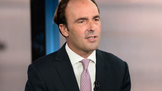 Hayman Capital Management founder Kyle Bass says foreign investors are waiting on the sidelines for a tectonic political shift to take place in 2018.