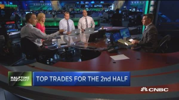 Top trades for the 2nd half: TPX, CRM & DHI