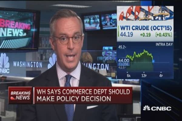 Obama doesn't support bill to lift ban on crude exports