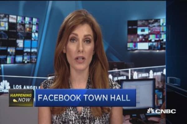 Facebook's 'dislike' button