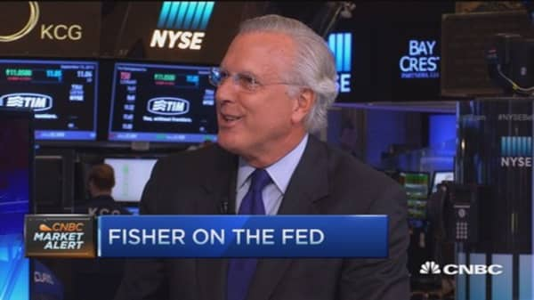 It's time for a rate hike: Ex-Fed's Fisher