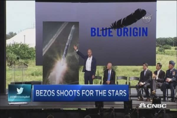 Amazon breathes new life into space industry