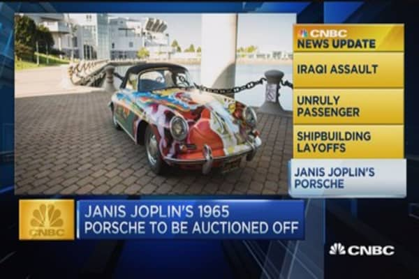 Janis Joplin's Porsche hits the block