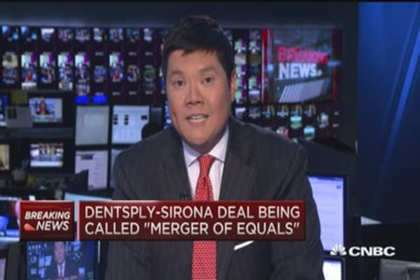 Dentsply and Sirona set to merge in dentistry deal