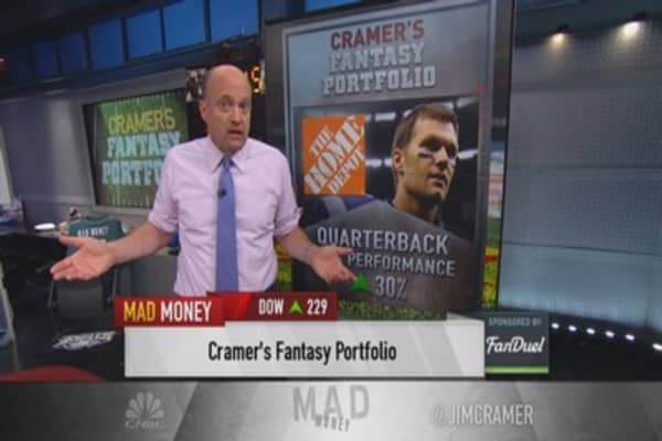 Cramer's fantasy football portfolio: Top QB pick
