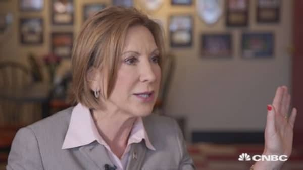 Fiorina: Innovation is only answer to climate change