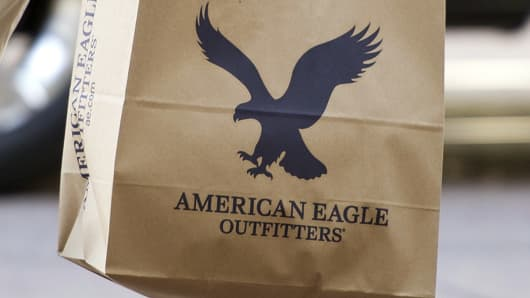 American Eagle Same Store Sales Jump Sending The Retail Stock Soaring